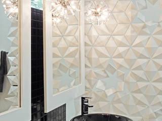 PLAYFUL BATHROOM DIVIDER FOR A MODERN BATHROOM de Bloomming Moderno