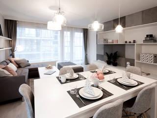 IDAFO projektowanie wnętrz i wykończenie Modern Dining Room