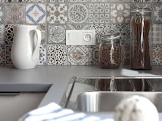 PROJEKT Z DETALAMI: styl , w kategorii Kuchnia zaprojektowany przez IDAFO projektowanie wnętrz i wykończenie