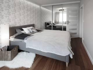 PROJEKT Z DETALAMI: styl , w kategorii Sypialnia zaprojektowany przez IDAFO projektowanie wnętrz i wykończenie