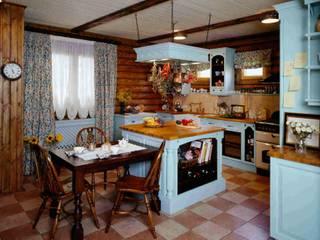 Английская кухня в бренвенчатом доме Кухня в классическом стиле от NABOKOFF английские интерьеры Классический