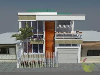 CASA VERGARA FORERO: Casas de estilo  por GRUPO CORTAZAR,