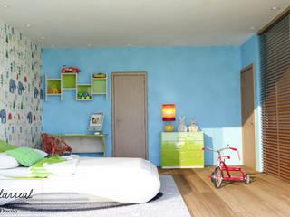 Citlali Villarreal Interiorismo & Diseño Chambre d'enfant moderne