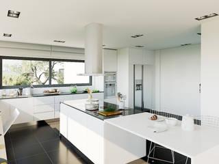 現代廚房設計點子、靈感&圖片 根據 MyWay design 現代風