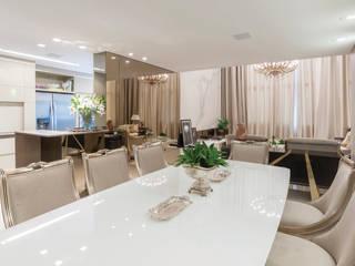 AMBIENTE 01 Salas de jantar clássicas por Leticia Athayde Arquitetura Clássico