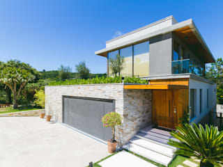 Casas de estilo moderno de Melo Mesquita Arquitetura Moderno