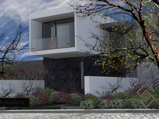 CASA SGA AURORA: Casas de estilo minimalista por Sebastián Gutiérrez Arquitectura