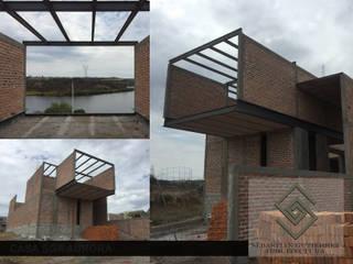 CASA SGA AURORA... AVANCE SGA002: Casas de estilo minimalista por Sebastián Gutiérrez Arquitectura