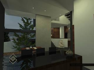 CASA SGA NESS: Cocinas de estilo minimalista por Sebastián Gutiérrez Arquitectura