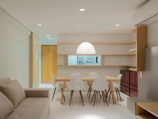 Apartamento por A + A arquitetos Minimalista