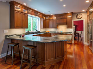 Bishop Medium Cherry Kitchen by Main Line Kitchen Design Classic