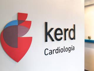 Kerd Cardiología: Clínicas / Consultorios Médicos de estilo  por Sentido Arquitectura