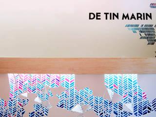 De tin marín: Espacios comerciales de estilo  por Sentido Arquitectura