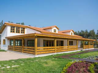 ALGUNAS DE NUESTRAS CONSTRUCCIONES REALIZADAS Casas clásicas de Casas y cabañas de Madera -GRUPO CONSTRUCTOR RIO DORADO (MRD-TADPYC) Clásico