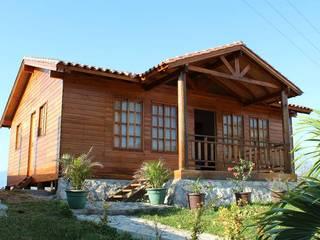 根據 Casas y cabañas de Madera -GRUPO CONSTRUCTOR RIO DORADO (MRD-TADPYC) 古典風