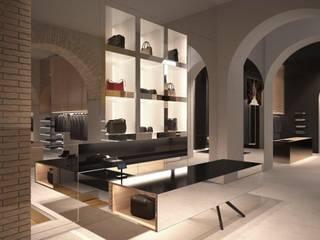 Massimo Rebecchi boutique Negozi & Locali commerciali moderni di RMAD - ROBERTO MARCONI ARCHIDESIGN Moderno