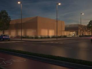 Villagrappa Centro congressi moderni di RMAD - ROBERTO MARCONI ARCHIDESIGN Moderno
