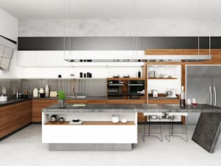 Kitchen Area:  Dapur by Juxta Interior