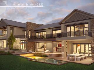 Casas modernas de Facet Architecture Moderno