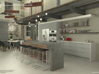 Cocinas de estilo moderno de Facet Architecture Moderno