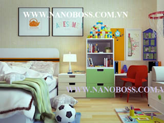 Nội Thất Căn Hộ Chung Cư bởi Công ty Cổ Phần Tập đoàn Nano Boss