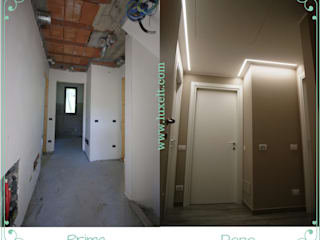 Modern Corridor, Hallway and Staircase by Luxelt Modern