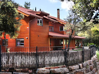 Wooden houses by Rusticasa, Rustic