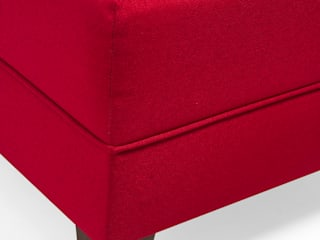 Comfort Yaşam Serisi Köşe Koltuk Kırmızı Sağ-Sol Köşe K105 Mobilya Pazarlama Danışmanlık San.İç ve Dış Tic.LTD.ŞTİ. Oturma OdasıKanepe & Koltuklar Ahşap-Plastik Kompozit Kırmızı