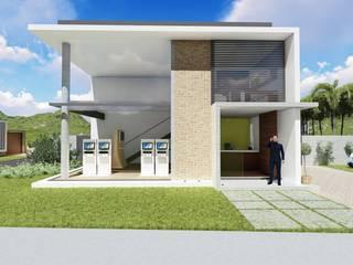 Espaço Comercial Espaços comerciais modernos por arquiteto Jean Carlos Schneider Moderno