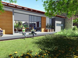 CASA VL Casas modernas por arquiteto Jean Carlos Schneider Moderno