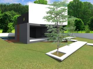 Projeto Jaspe: Casas  por Magnific Home Lda