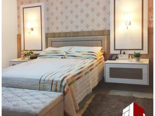 Arquiteto Fernando Dela Justina Eclectic style bedroom