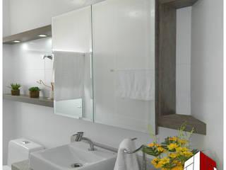 Arquiteto Fernando Dela Justina Eclectic style bathroom