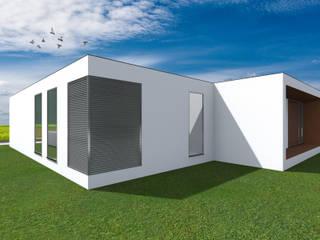 Projeto Safira Magnific Home Lda Casas minimalistas