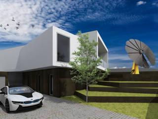 Projeto Turmalina: Casas  por Magnific Home Lda,Moderno