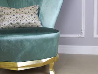 Poltrona Irreverente - Marca Exuberante:   por Glim - Design de Interiores