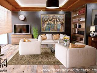 Decora tu casa con lo más importante: Tu Familia de MORAN Estudio D Arte Moderno