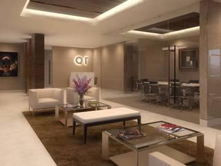 Oficinas corporativas:  de estilo  por nuk arquitech