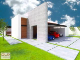 Casas de estilo  por DLR ARQUITECTURA/ DLR DISEÑO EN MADERA, Minimalista