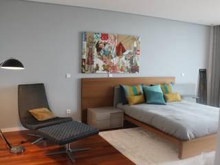 CASA EM VALE PISÃO por Openlife - Decoração de Interiores Moderno