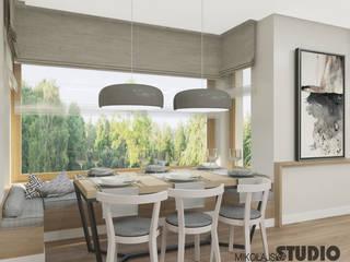 MIKOŁAJSKAstudio Scandinavian style dining room