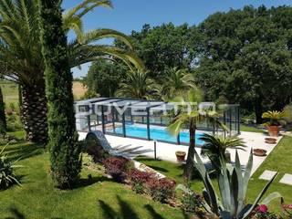 Cubierta de piscina. Piscinas de estilo moderno de COVERTTO Moderno