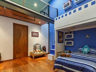 Schlafzimmer von SANTIAGO PARDO ARQUITECTO,
