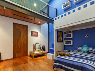 Modern style bedroom by SANTIAGO PARDO ARQUITECTO Modern