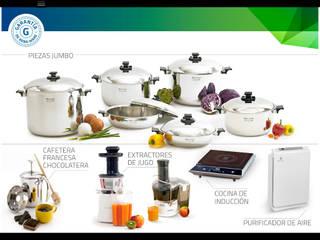 Productos con garantía vitalicia que promueven un estilo de vida saludable; calidad y elegancia para su cocina:  de estilo  por Rena Ware de Colombia