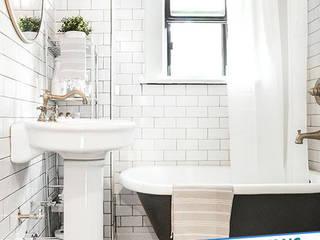 Casas de banho modernas por Antalya Fayans Ustası - 0 546 737 07 38 Moderno