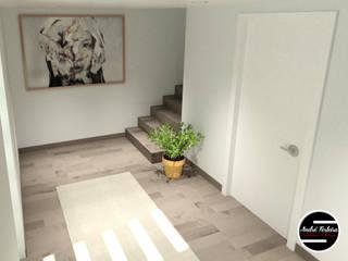 Hall: Corredores e halls de entrada  por André Terleira - Arquitectura e Construção