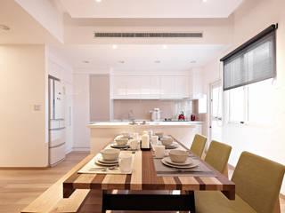 透掠:  廚房 by 耀昀創意設計有限公司/Alfonso Ideas