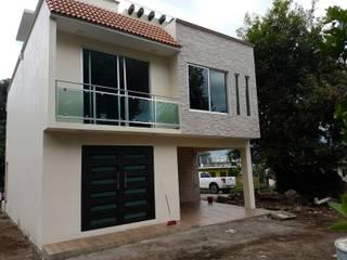 erram arquitectos Modern Houses Stone Beige