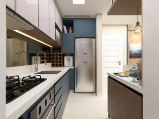 Moderne Küchen von Arquiteto Otávio Mendes Modern